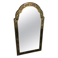 Late 19th Century Arched Venetian Mirror