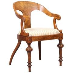 Late 19th Century Armchair Desk Chair