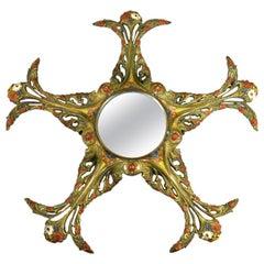 Late 19th Century Art Nouveaux Mirror