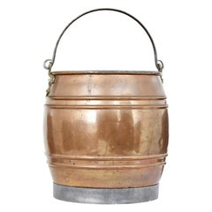 Late 19th Century Arts & Crafts Copper Bucket