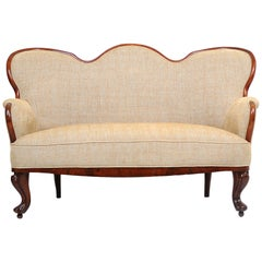 Late 19th Century Belgian Bentwood Settee