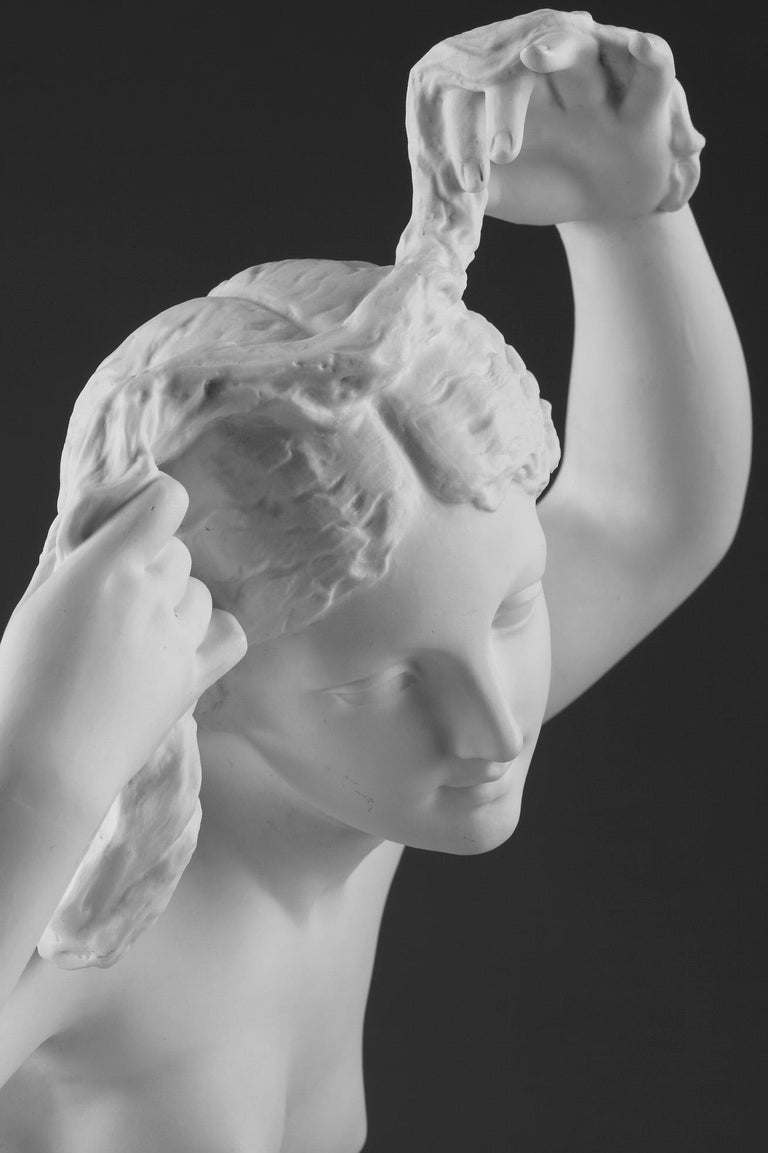 Late 19th Century Bisque Group Cupid and Psyche For Sale 7