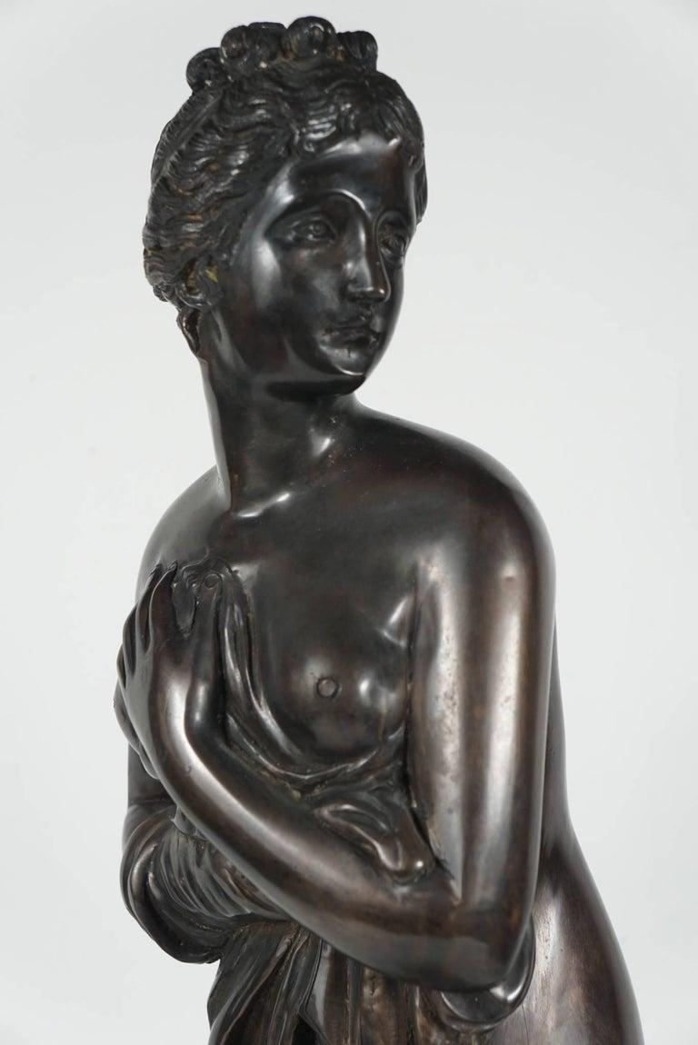 Late 19th Century Bronze Statue of Venus For Sale 3