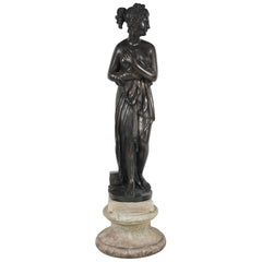 Late 19th Century Bronze Statue of Venus