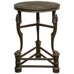 Late 19th Century Bronze Table in the Pompeian Taste