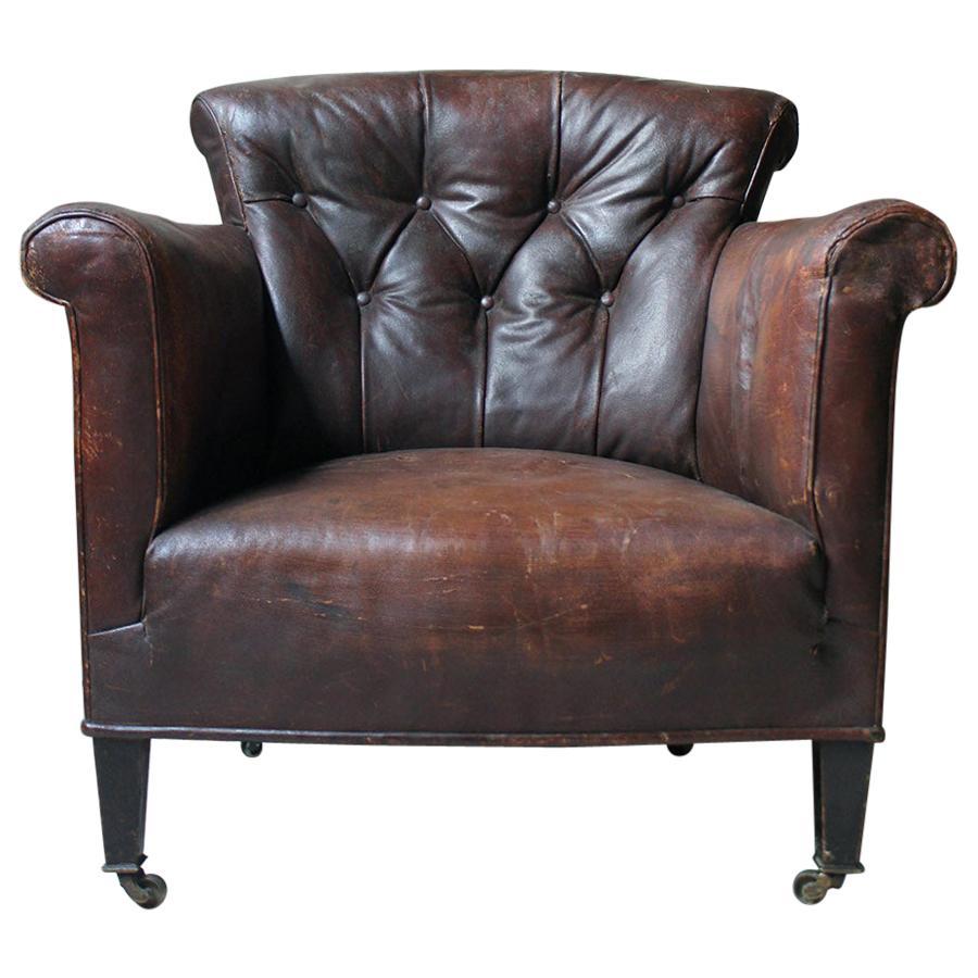 Phenomenal Leather Tub Chairs 67 For Sale On 1Stdibs Creativecarmelina Interior Chair Design Creativecarmelinacom