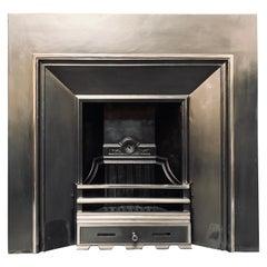 Late 19th Century Cast insert Fireplace Insert