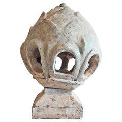 Late 19th Century Ceramic Lamp / Lantern from Thailand