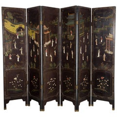 Late 19th Century Chinese Screen