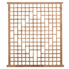 Late 19th Century Chinese Window Screen
