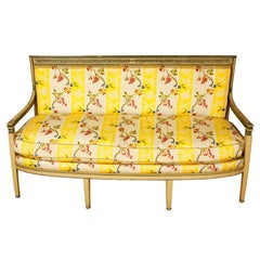 Late 19th Century Directoire Settee