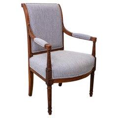 Late 19th Century Directoire Style Armchair