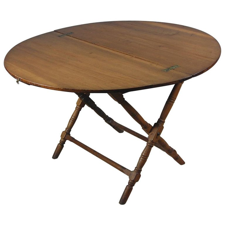late 19th century english field or campaign folding table for sale at 1stdibs. Black Bedroom Furniture Sets. Home Design Ideas
