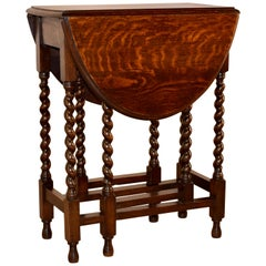 Late 19th Century English Gate Leg Table