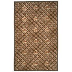 Late-19th Century English Needlepoint Carpet