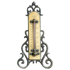 Late 19th Century English Opticians Thermometer