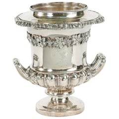 Late 19th Century English Plated Wine Cooler