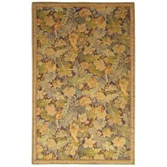 Late 19th Century English William Morris Large Leaf Verdure Tapestry