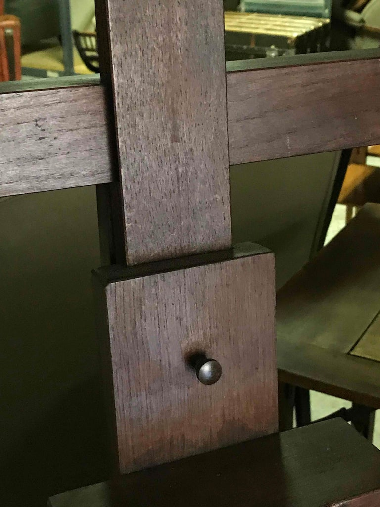 Late Victorian Late 19th Century  English Wooden Artist's Easel  For Sale
