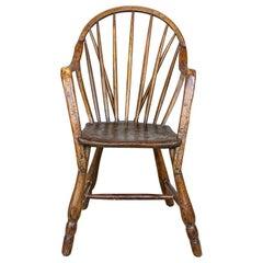 "Late 19th Century Extraordinary ""Bodgers"" Windsor Chair"