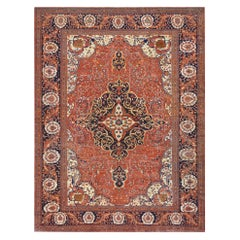 Late 19th Century Fereghan Rug from West Persia