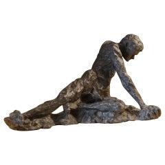 Late 19th Century Figurative Sculpture by Magdalene Remhurez, France, circa 1890