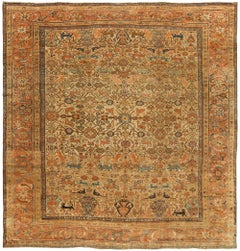 Late 19th Century Fine Persian Sultanabad Area Rug