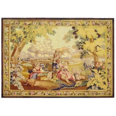 Late 19th Century Flemish Pastoral Tapestry