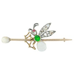 Late 19th Century Fly Brooch
