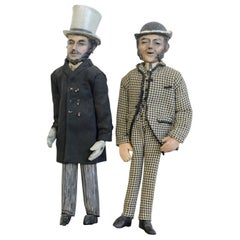 Late 19th Century Folk Art Figures