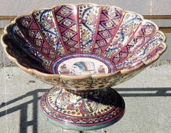 Late 19th Century footed Bowl attributed to Alfredo Santarelli