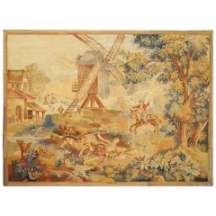 Late 19th Century French Allegorical Tapestry