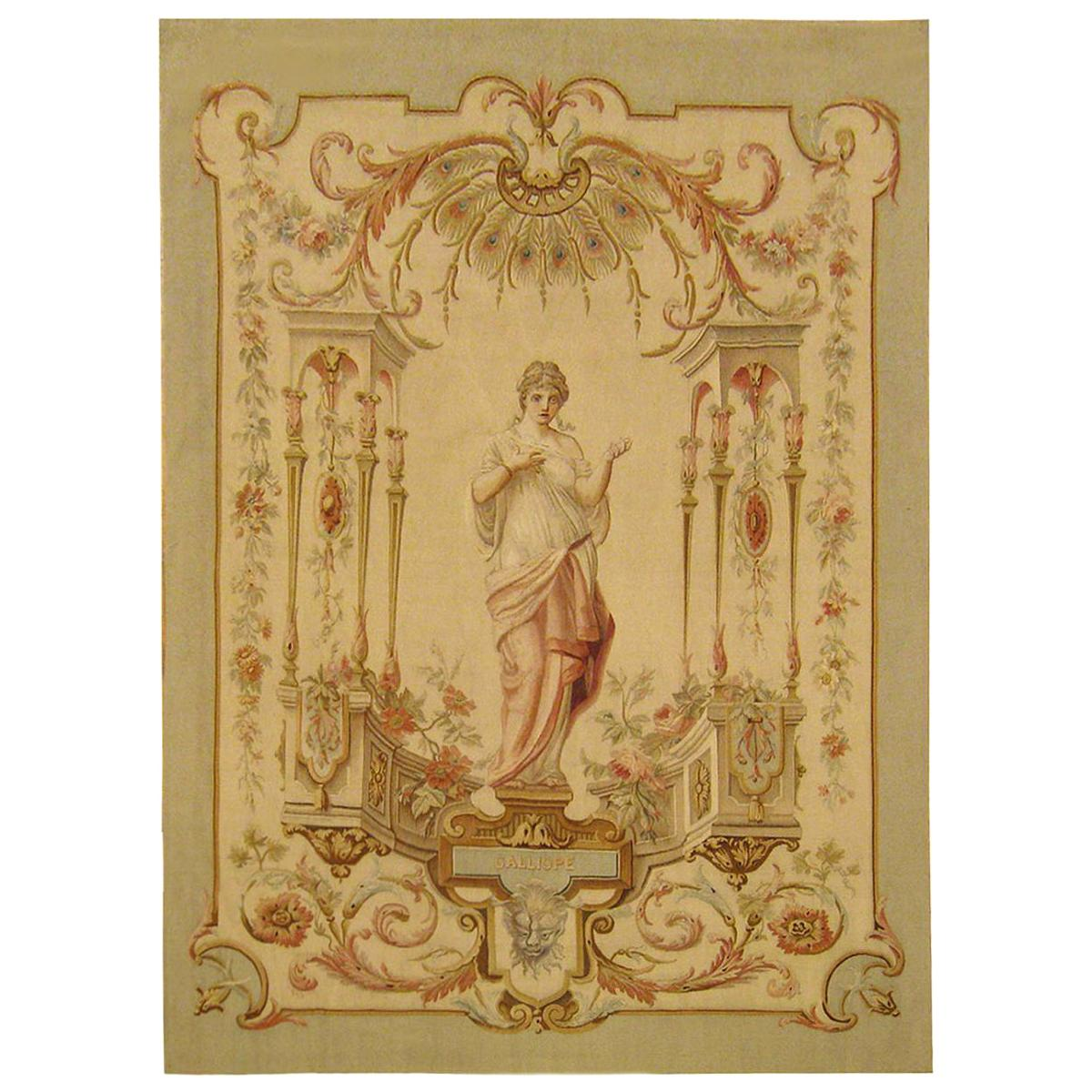 Late 19th Century French Aubusson Tapestry
