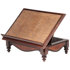 Late 19th Century French Book Stand Rack Made of Rosewood