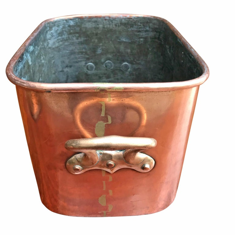 Bronze Late 19th Century French Copper Daubiere by J. Jacquotot For Sale