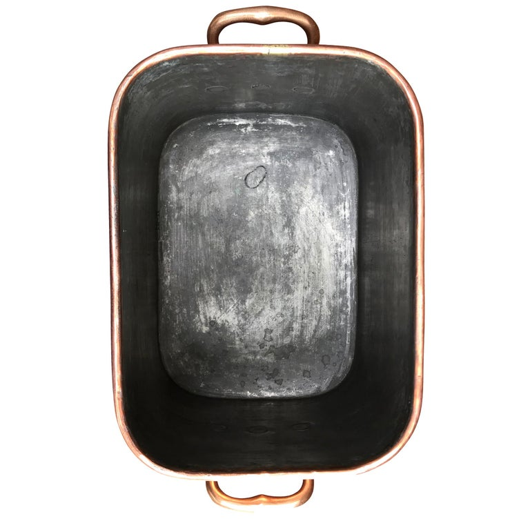Late 19th Century French Copper Daubiere by J. Jacquotot For Sale 2