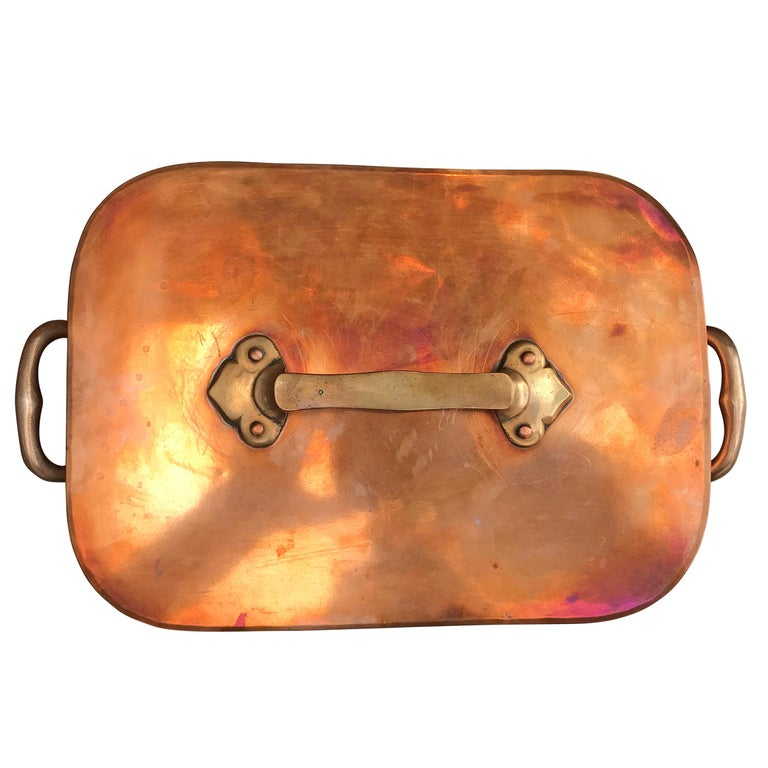 Late 19th Century French Copper Daubiere by J. Jacquotot For Sale 5