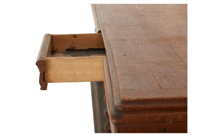 Wood Late 19th Century French Draper's Table
