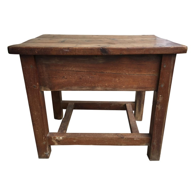 Late 19th Century French Kitchen Work Table