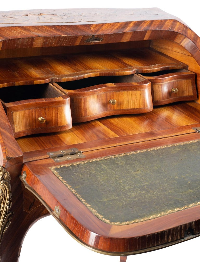 Veneer Late 19th Century French Ladies Writing Desk For Sale