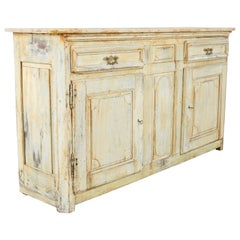 Late 19th Century French Provincial Painted Buffet