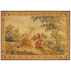 Late 19th Century French Romantic Tapestry