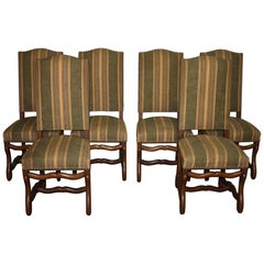 Late 19th Century French Set of Dining Chairs