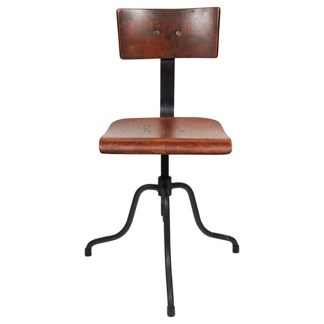 Late 19th Century French Swivel Chair