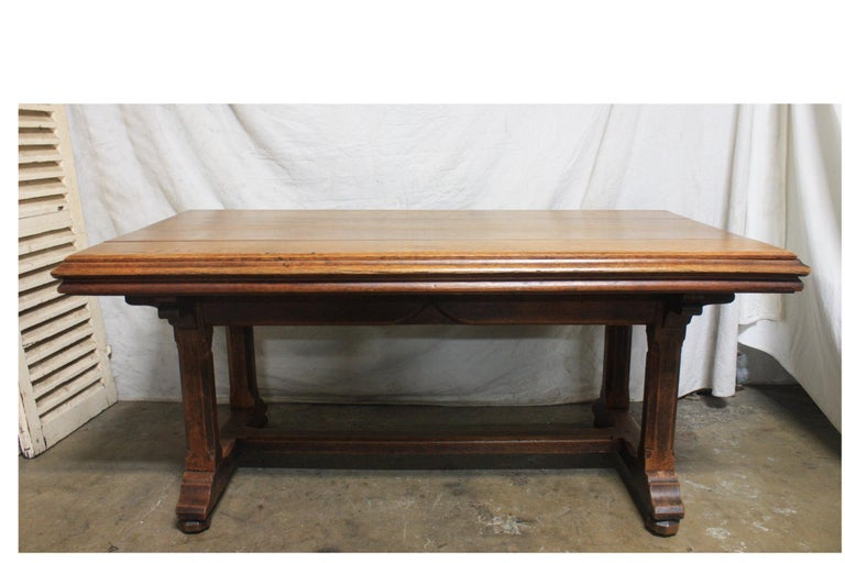 Late 19th century French table desk.