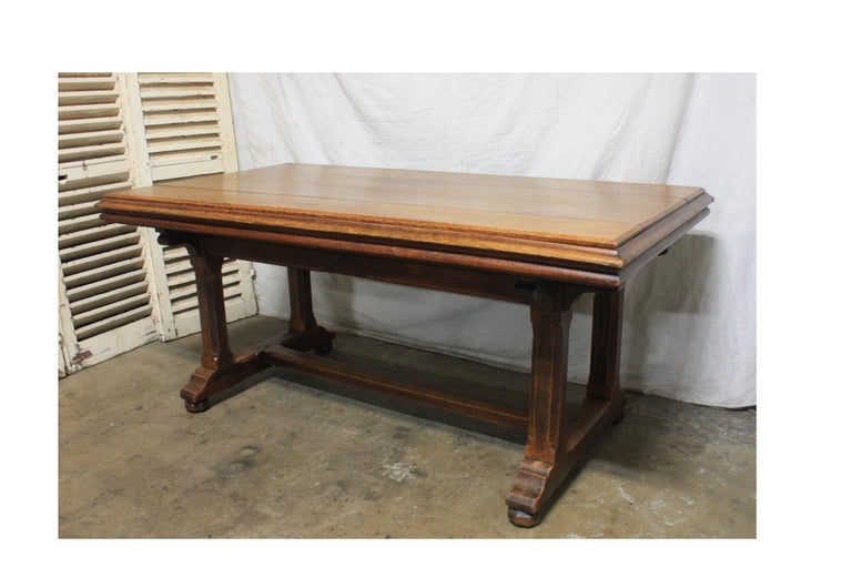 Late 19th Century French Table Desk In Good Condition For Sale In Atlanta, GA
