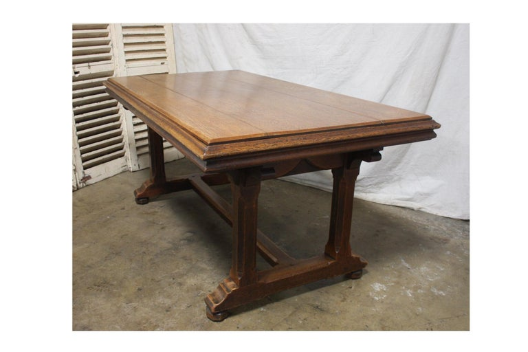 Beech Late 19th Century French Table Desk For Sale