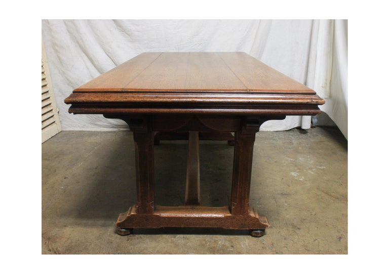 Late 19th Century French Table Desk For Sale 1