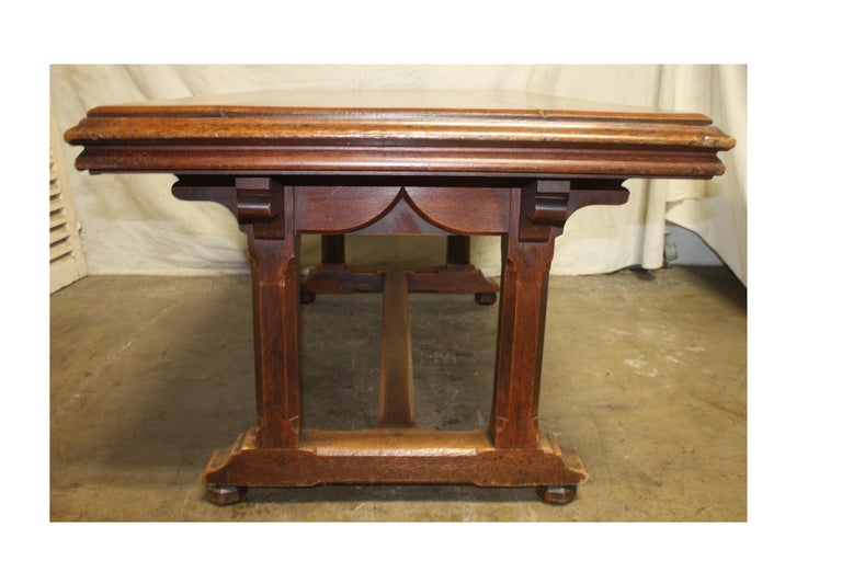 Late 19th Century French Table Desk For Sale 2