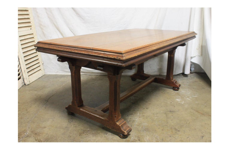 Late 19th Century French Table Desk For Sale 3